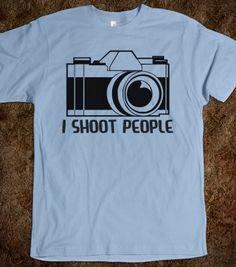 I Shoot People - Grab a Shirt