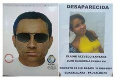 DE OLHO 24HORAS: Divulgado retrato falado de suspeito por desaparec...