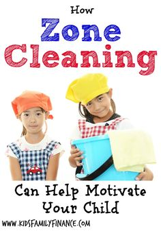How Zone Cleaning Can Help Motivate Your Child - Kids Family Finance Toddler Chores, Chores For Kids, Toddler Preschool, Kids And Parenting, Parenting Hacks, Zone Cleaning, Cleaning Tips, Potty Training Girls, Age Appropriate Chores