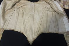 """Beautiful Original Pre Civil War Silk Dress Gown C 1840's Great Cond 