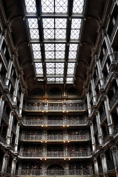 The George Peabody Library by fwredelius, via Flickr
