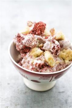 Snickerdoodle Red Velvet Ice cream