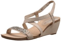 699ebf2fdaff online shopping for Anne Klein Women s Jasia Wedge Sandal from top store.  See new offer for Anne Klein Women s Jasia Wedge Sandal