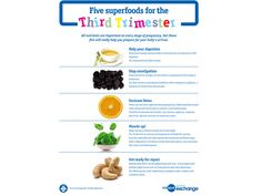 Superfoods to work wonders during pregnancy #earlylifenutrition