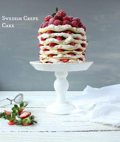 Swedish Pancake Cake Recipe