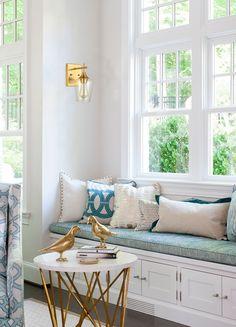 Living Room Lighting, Living Room Decor, Dining Room, Home Design, Interior Design, Design Ideas, Design Interiors, Design Design, Window Benches