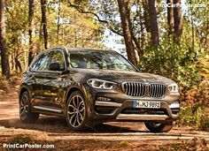BMW X3 2018 poster, #poster, #mousepad, #tshirt, #printcarposter Good Looking Cars, Bmw X4, Car Posters, Poster Poster, Bmw Cars, Rolls Royce, Porsche 911, Peugeot, Luxury Cars