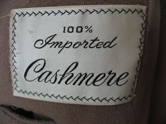 imported cashmere