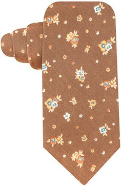 Shop for Spaced Floral Tie by Countess Mara at ShopStyle.