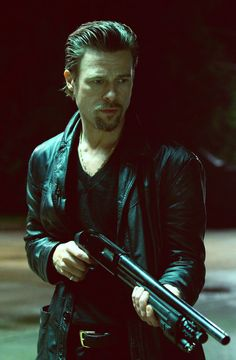 Killing them Softly - Brad Pitt as Jackiew Cogan #GangsterMovie #GangsterFlick