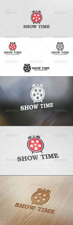 Movie Time  Logo Template — Vector EPS #show time #movie alert • Available here → https://graphicriver.net/item/movie-time-logo-template/5693299?ref=pxcr