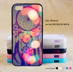 Dream Catcher Phone Case For iPhone 6 Plus For iPhone 6 For iPhone 5/5S For iPhone 4/4S For iPhone 5C-5 Colors Available