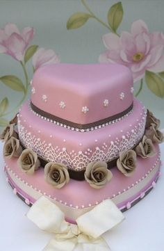 See more about heart shaped cakes, vintage style and heart. palepink