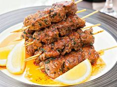 Spanish style beef kebabs: These kebabs are a flavourful option for your next barbeque.