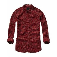 Rockabilly inspired printed shirt - Shirts - Scotch & Soda Online Shop