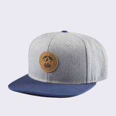Keps - Badge Grey Melange