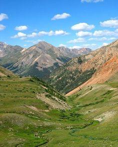 Mountains around Durango, CO