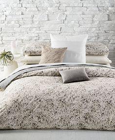 calvin klein nocturnal blossoms cotton duvet covers