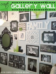 Eye Candy Creative Studio: HOME | MADE :: How To Create a Gallery Wall @eyecandycreate