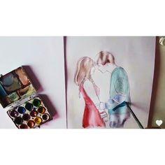 #ioanacotunaart #love couple teen LOVE story