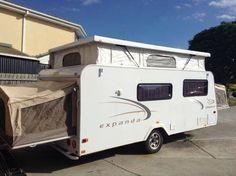 Caravan Hire - Jayco Expanda Pop top $100 per day 6 berth (VIC/Melb SE)  Caravan and Camping Hire Aus