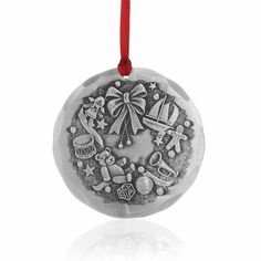 Collectors Annual Wendell August Christmas Wishes Ornament