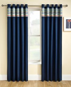 Siesta Block Out Eyelet Ready Made Curtains