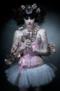 Pastel Goth my future wedding dress 0_0