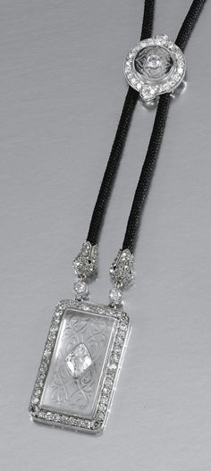 CARTIER-Belle Epoch rock crystal sautoir