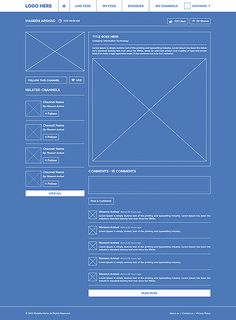 Social network ui ux blueprint wireframe best web design social network ui ux by waseem arshad via behance malvernweather Choice Image
