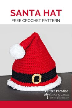 Captivating All About Crochet Ideas. Awe Inspiring All About Crochet Ideas. Crochet Santa Hat, Crochet Christmas Hats, Crochet Beanie, Crochet Angels, Crochet Ornaments, Crochet Snowflakes, Crocheted Hats, Free Crochet, Crochet Baby