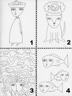 Kristin Dudish: Tutorial Try-Out: Teesha Moore's Fun Drawing Lesson
