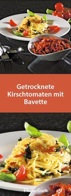 Getrocknete Kirschtomaten mit Bavette