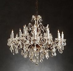 Chandeliers - I will need one when I own my own house :)
