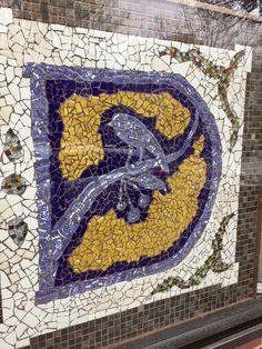 Bird Mosaic, Cambridge, Massachusetts | by jillyjally