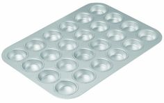 Chicago Metallic Commercial II Traditional Uncoated 24cup Mini Muffin Pan -- This is an Amazon Affiliate link. To view further for this item, visit the image link.