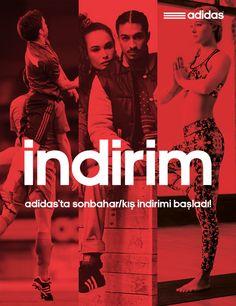 Sonbahar/Kış #adidas #indirim i başladı! Alışverişe hemen başlamak için linki tıklayın. http://www.dalkilicspor.com/outlet