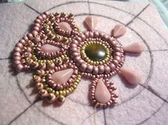 * Free Bead Embroidery Patterns | Triz's Beading Mania - Reader Submissions: Show and Tell Your Beading ...