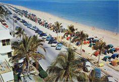 Fort Lauderdale Strip 1950s #FortLauderdale #ThingsToDoInFortLauderdale #FortLauderdaleAttractions