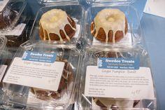 Mmm ginger pumpkin bundt cake from @swedeetreats that are #glutenfree but sure taste amazing! #yycglutenfree #YYCEats #YYCFood #YYC #CalgaryEats #Calgary #SymonsValley