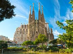 Shutterstock / Semen Lixodeev Dream to be here someday,...Barcelona Spain, La Sagrada Familia