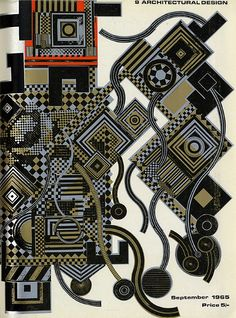 Eduardo Paolozzi. Architectural Design 35 September 1965: cover | RNDRD
