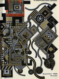 Eduardo Paolozzi. Architectural Design 35 September 1965: cover   RNDRD