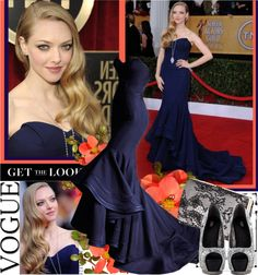 """Amanda Seyfried"" by adri96 ❤ liked on Polyvore"