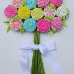 Cupcake Flower Bouquet . . . Mother's Day . . . baby shower . . . bridal shower . . . . tea party