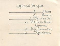 Spiritual Bouquet