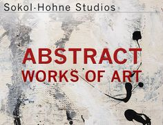 New Abstract Works of Art catalog by Sokol-Hohne Studios