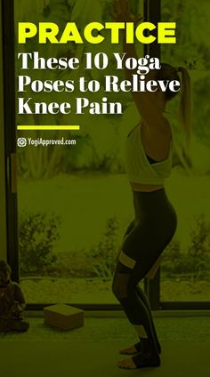 , Knee pain is an issue that many people suffer from, but yoga can help! Soothe and strengthen your knee joints with these yoga poses for knee pain. , Practice These 10 Yoga Poses to Relieve Knee Pain Knee Strengthening Exercises, Yoga Exercises, Knee Stretches, Yoga Workouts, Yoga Beginners, Beginner Yoga, Yin Yoga, Yoga For Knees, How To Strengthen Knees
