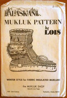 1970's Alaskan Mukluk Pattern -