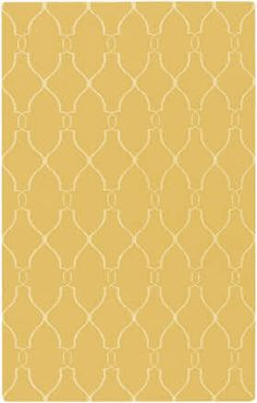 Yellow rug for living room?